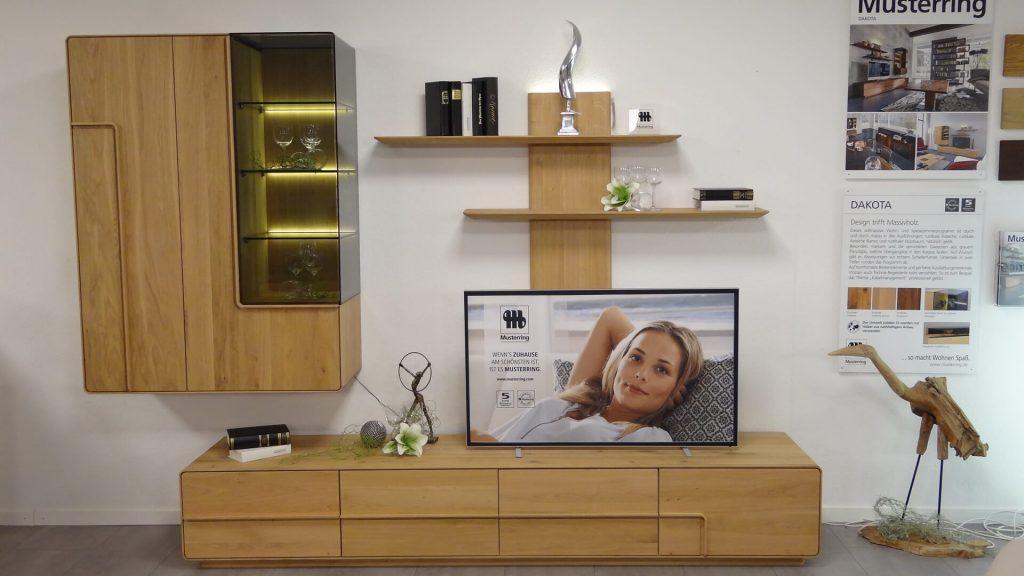 musterring wohnwand modell dakota. Black Bedroom Furniture Sets. Home Design Ideas