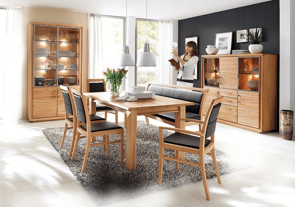 voglauer esszimmer sunday sudbrock esszimmer voglauer esszimmer moebi wohndiskont gmbh. Black Bedroom Furniture Sets. Home Design Ideas