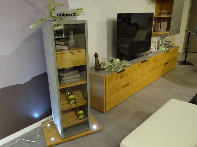 h lsta wohnwand modell fena. Black Bedroom Furniture Sets. Home Design Ideas